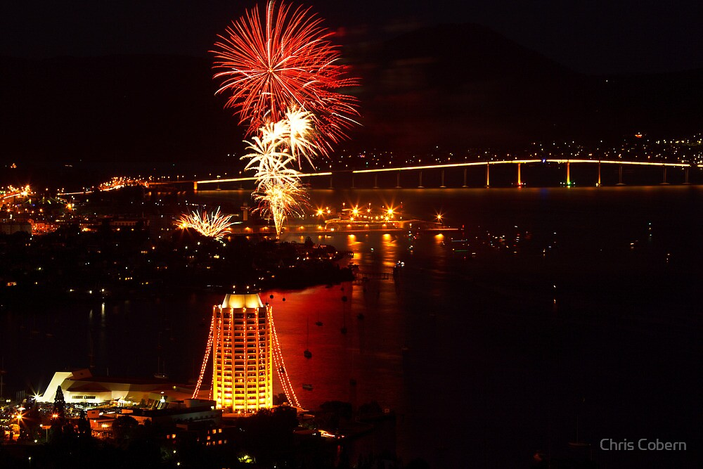 New Years Eve Hobart 2009-10 by Chris Cobern