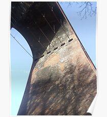 viaduct  folkestone Poster