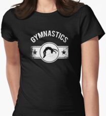 gymnastic Women's Fitted T-Shirt