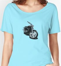 Candy Red Flamed Cruiser Women's Relaxed Fit T-Shirt