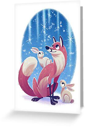 Fuchs und Hasen von Laisanen