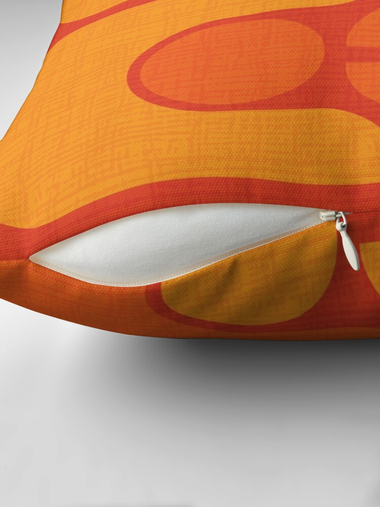 Alternate view of Golden Oldie Throw Pillow