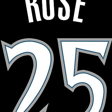 Derrick Rose Timberwolves Jersey by RatTrapTees