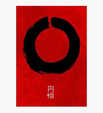 ENSO IN JAPAN Photographic Print