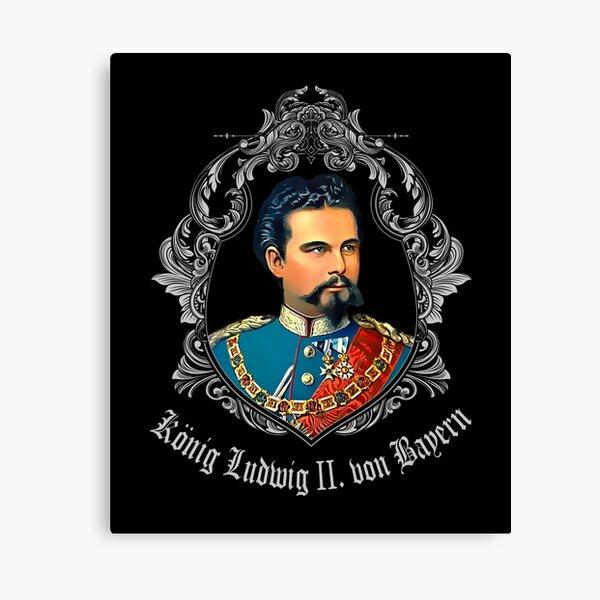 KING LUDWIG II OF BAVARIA Canvas Print
