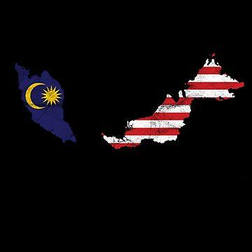 'Malaysia' Cool Flag Malaysia  by leyogi