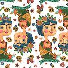 «Frida Kahlo rapport » de CatalanART