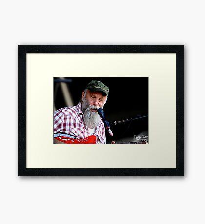 Seasick Steve Framed Print