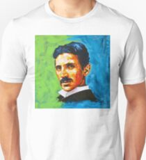 The Great Inventor - A Nikola Tesla Tribute Unisex T-Shirt