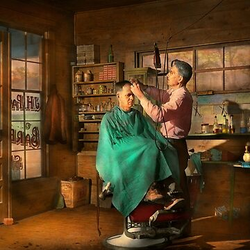 Barber - JH Parham Barber and Notary Public 1941 by mikesavad