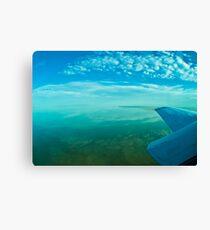 Lake Eyre, central Australia. Canvas Print