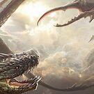 Dragon fight by Jose Ochoa