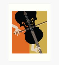 Jazz Violin Art Print