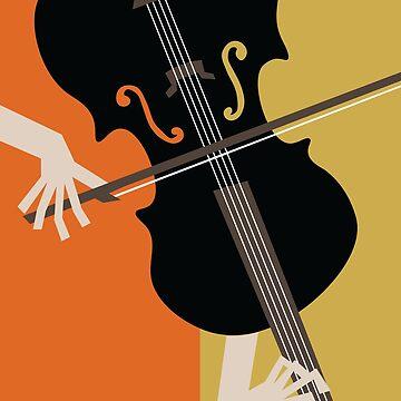 Jazz Violin by designkitsch