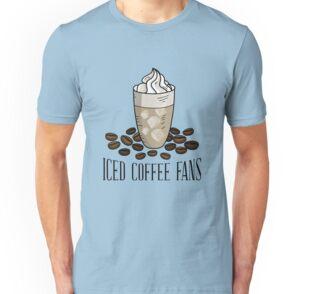 Iced coffee beans t-shirt