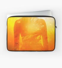 Love is the truth, light is the way Laptop Sleeve