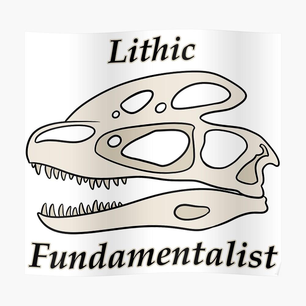 Fundamentalista litico Póster