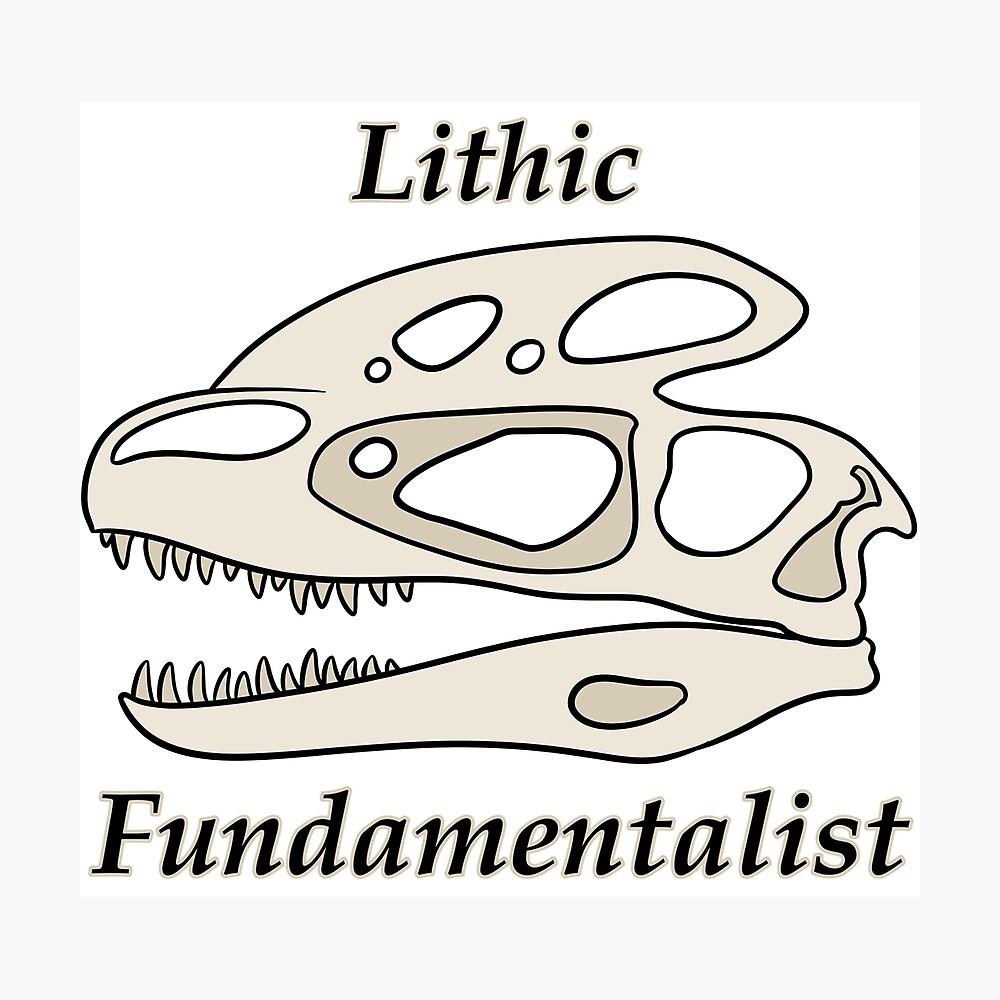 Fundamentalista litico Lámina fotográfica
