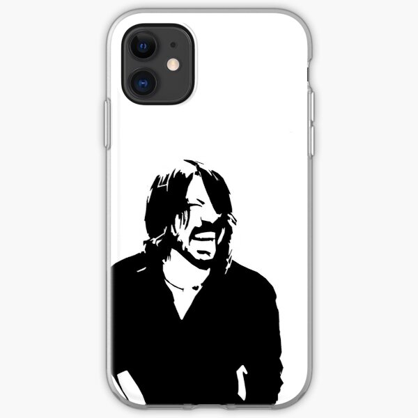 Dave Grohl Laughing iPhone Soft Case
