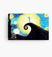 Starry Nightmare Canvas Print
