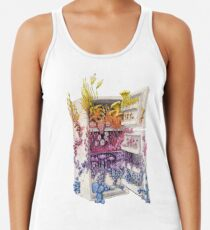 Moldy Fridge - Who Forgot the Hum(m)us? Women's Tank Top