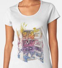 Moldy Fridge - Who Forgot the Hum(m)us? Women's Premium T-Shirt