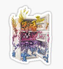 Moldy Fridge - Who Forgot the Hum(m)us? Sticker