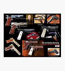 Colt 1911 John Browning Poster Photographic Print