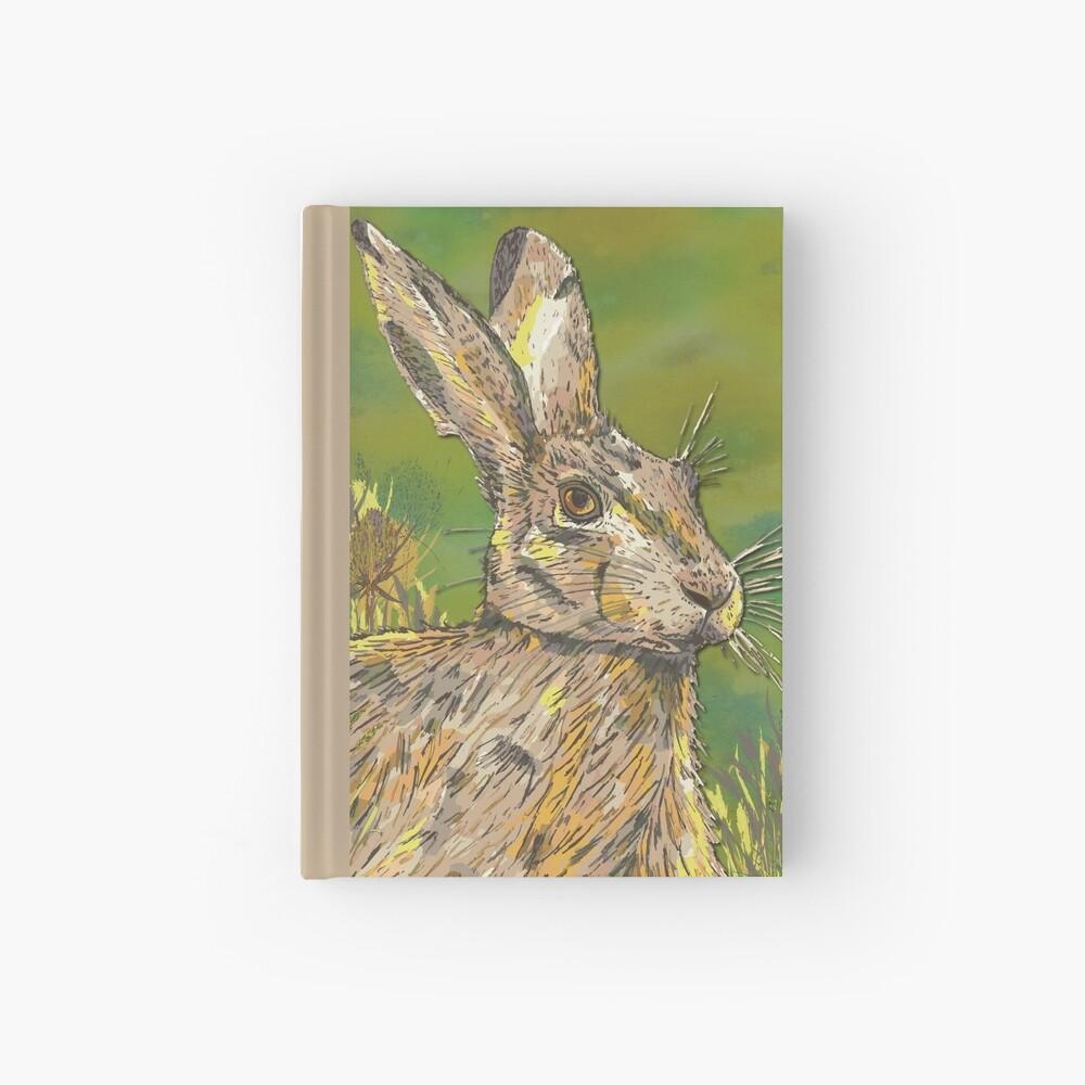 Summer Hare Hardcover Journal