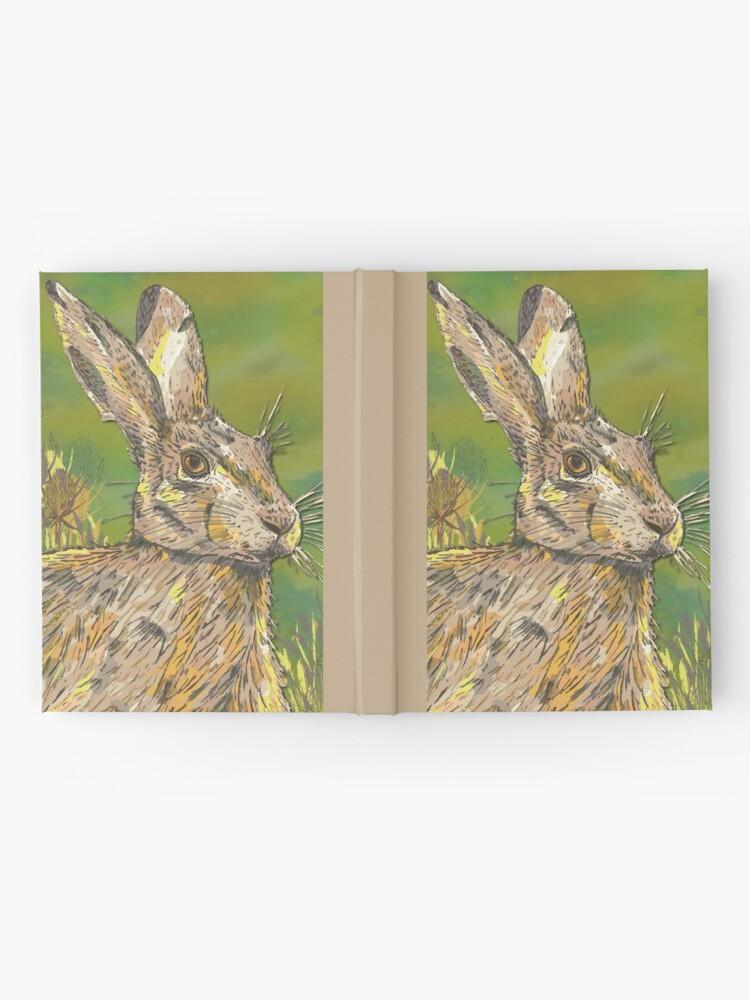 Alternate view of Summer Hare Hardcover Journal