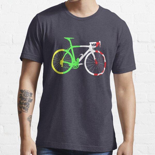 Bike Tour de France Jerseys (Vertical) (Big)  Essential T-Shirt