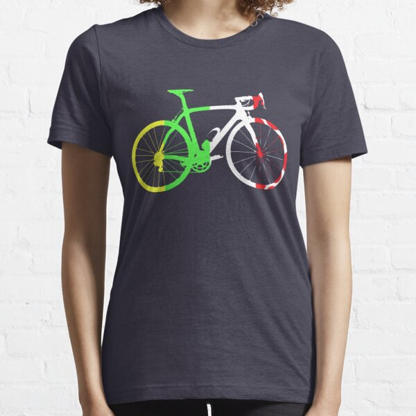 Bike Tour de France Jerseys (Vertical) (Big)  Essential T-Shirt