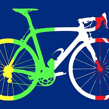 Bike Tour de France Jerseys (Vertical) (Big)  by sher00