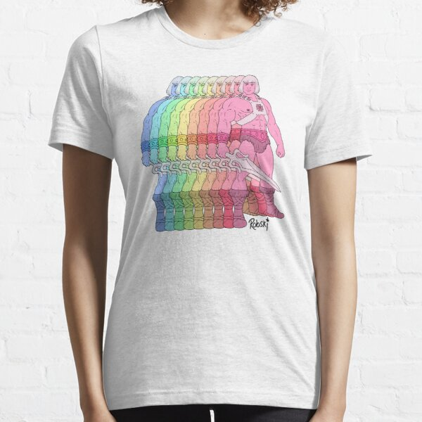 80's Rainbow Heman - I have the power! Essential T-Shirt