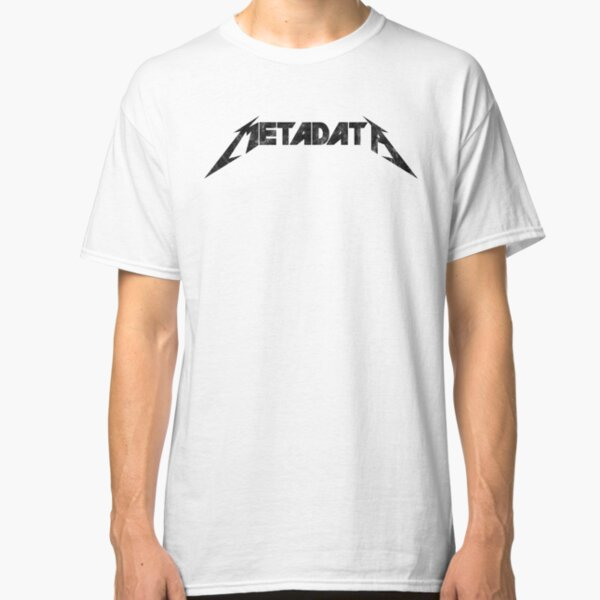 Metadata - Distressed Black Edition Classic T-Shirt