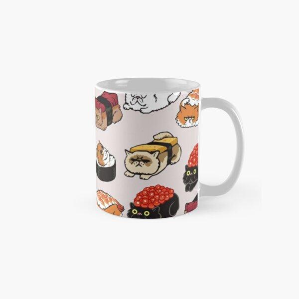 Sushi Persian Cat Classic Mug