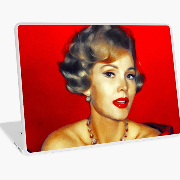 Zsa Zsa Gabor, Vintage Movie Star Laptop Skin