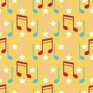 Music pattern by Angela Sbandelli