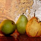 sunset pears by Eliza1Anna