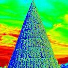 Christmas Tree Art by Cynthia48