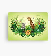 Jungle Magic Canvas Print