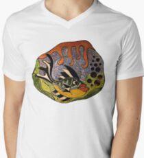 Temptation in the Depths Mens V-Neck T-Shirt