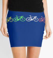 Bike Stripes Tour de France Jerseys v2 Mini Skirt