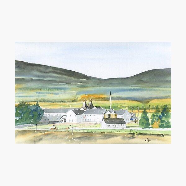 dalwhinnie distillery Photographic Print