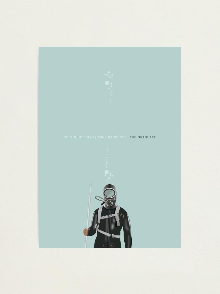Alternate view of The Graduate - Alternative Movie Poster Photographic Print