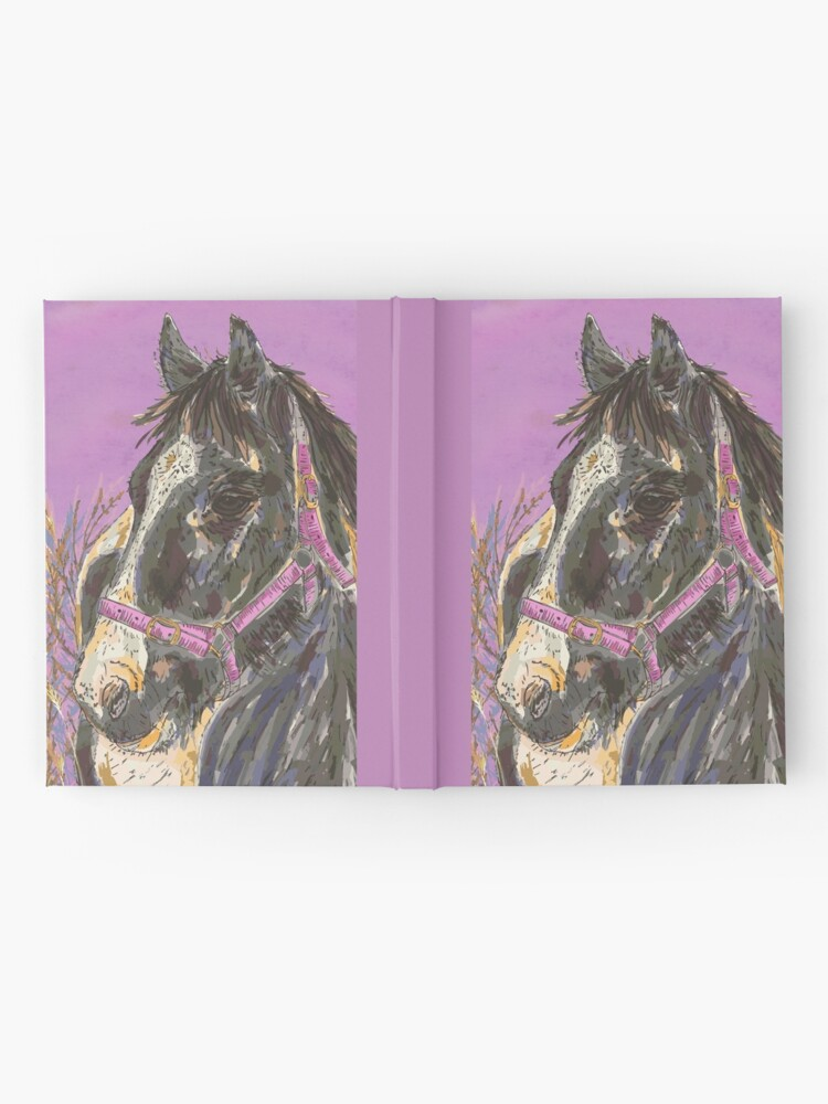 Alternate view of Horse with the Golden Mane Hardcover Journal