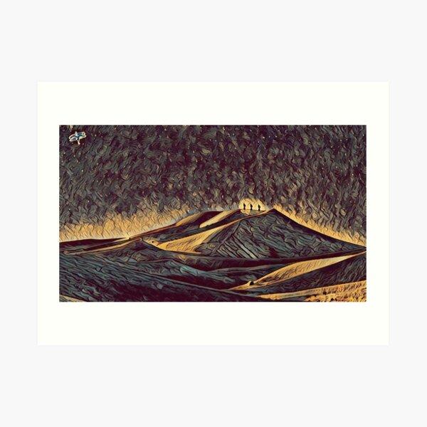 The Weedian Lands Art Print