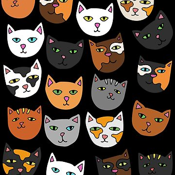 Kitty Cats everywhere pattern by Boogiemonst