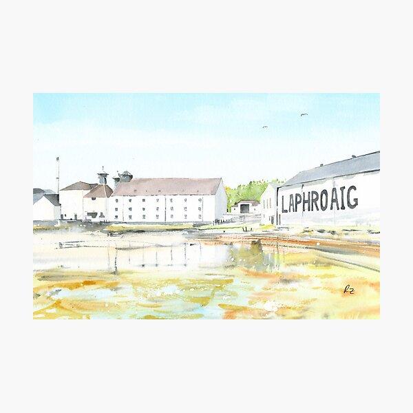 Laphroig Distillery Photographic Print