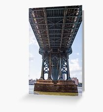 Manhattan Bridge #8 Greeting Card